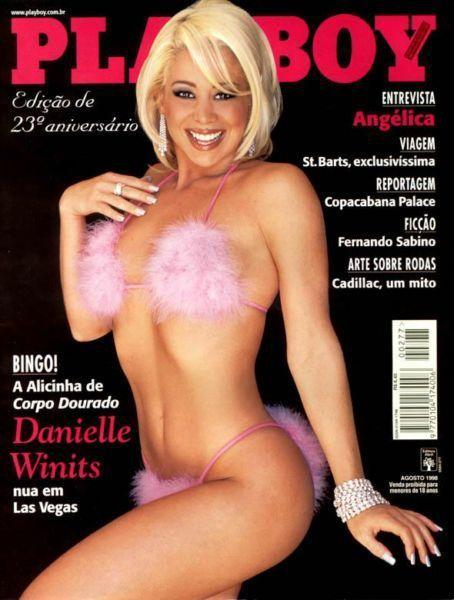 Danielle Winits gostosa pelada na playboy de 1998