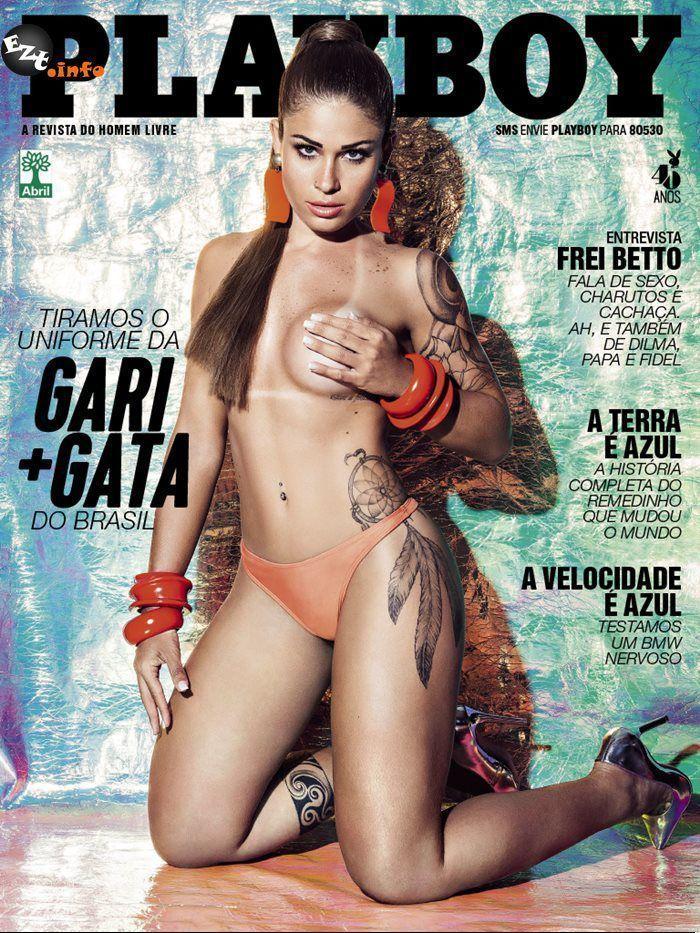 Gari gata Rita Mattos muito gostosa pelada na Playboy de 2015