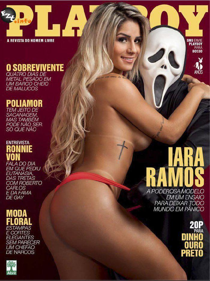 Iara Ramos gostosa pelada na playboy de 2015