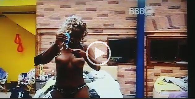 Vídeo da Adélia mulata BBB 2016 mostrando seus peitões