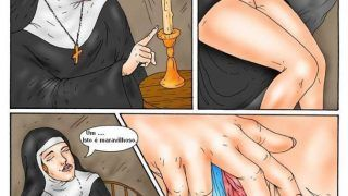 A freira puta – Quadrinhos eróticos