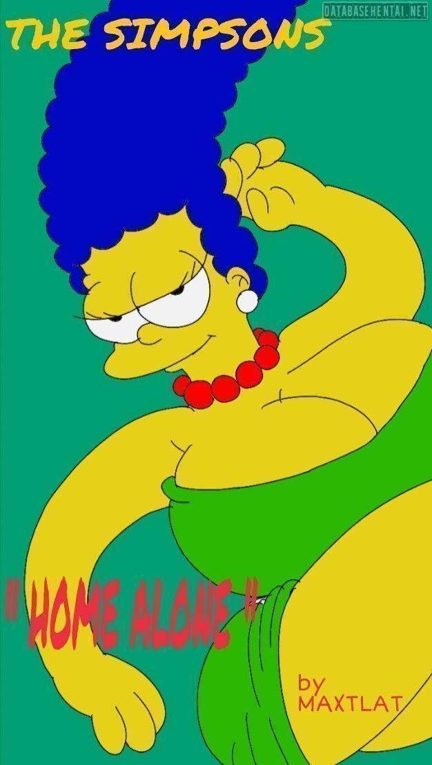 Quadrinho porno Bart comendo mamãe com irmã
