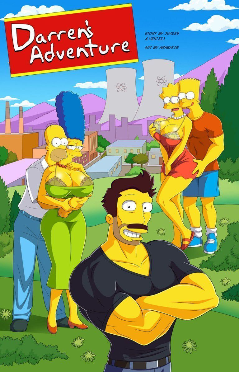 Quadrinho porno Bart fudendo Lisa gostosa