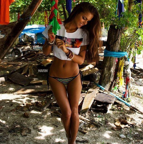 Viki Odintcova novinha do corpo perfeito muito linda