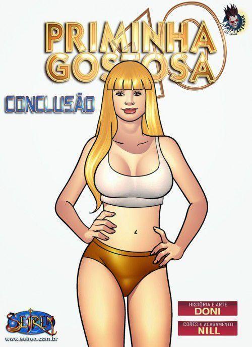 Quadrinho porno priminha gostosa parte 10 – 2