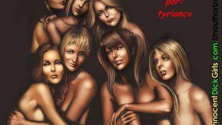 Dia das garotas com travestis