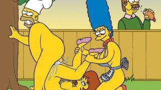 Churrasco da sacanagem dos Simpsons