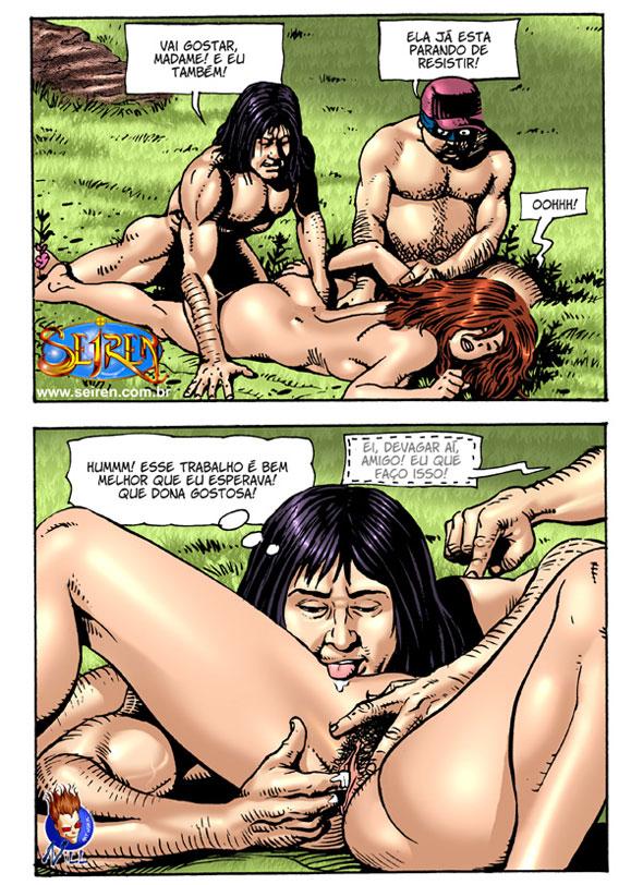 Minha esposa tesuda - HQ Erótico (12)