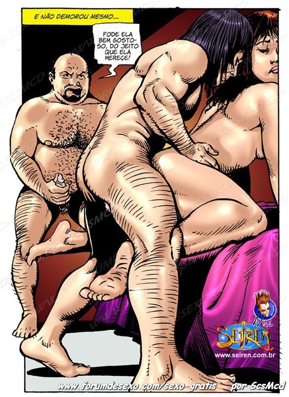 Minha esposa tesuda - HQ Erótico (43)